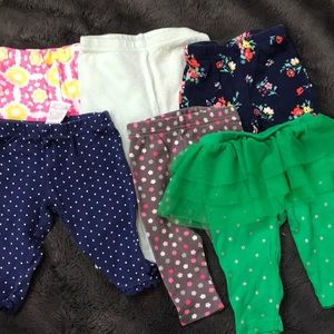 6 patterned pants